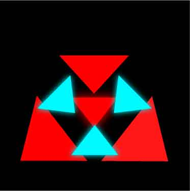 Simple glow logo